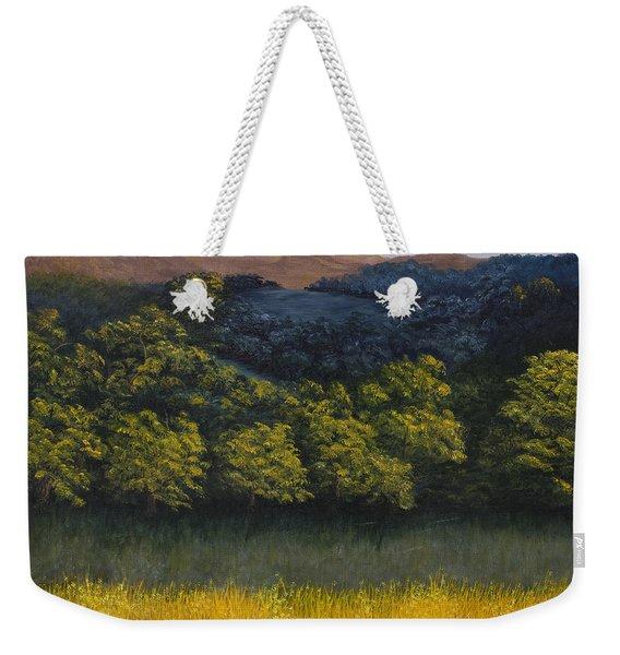 California Foothills Weekender Tote Bag