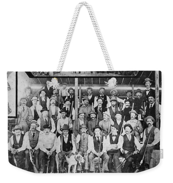 California Gun Club Weekender Tote Bag