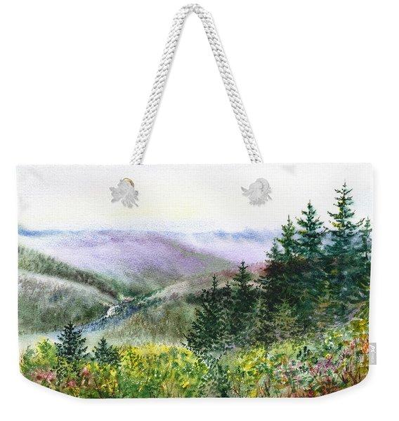 Redwood Creek National Park Weekender Tote Bag