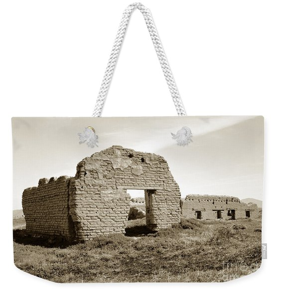 Soledad  California Mission  Monterey Co. Circa 1900 Weekender Tote Bag