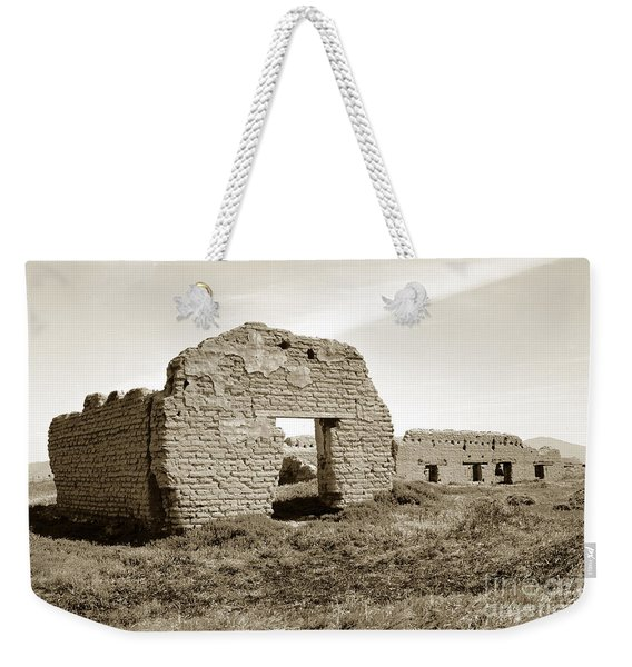 Soledad  California Mission  Monterey Co. Circa 1900 Weekender Tote Bag