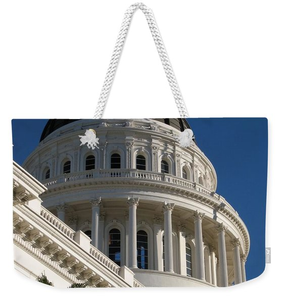 California State Capitol Dome Weekender Tote Bag