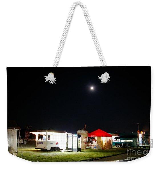 Call It A Night Weekender Tote Bag