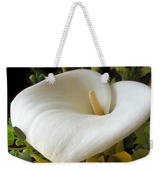 Calla Weekender Tote Bag
