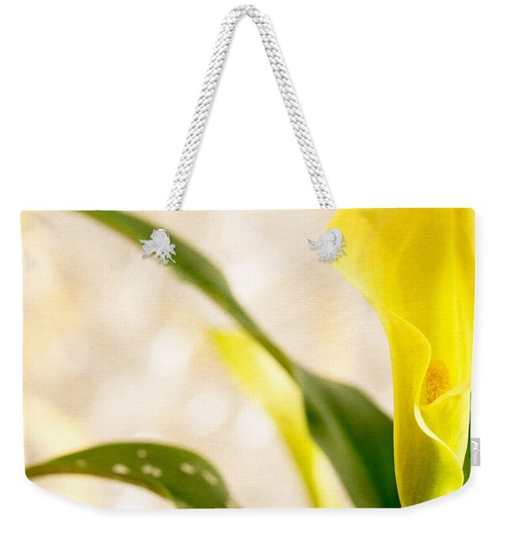 Calla Lily Two Weekender Tote Bag