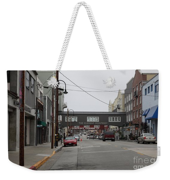 Calm Morning At Monterey Cannery Row California 5d24761 Weekender Tote Bag