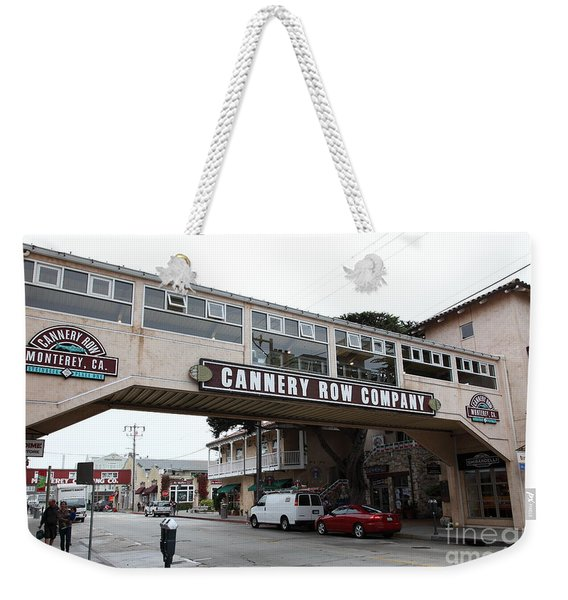 Calm Morning At Monterey Cannery Row California 5d24780 Weekender Tote Bag