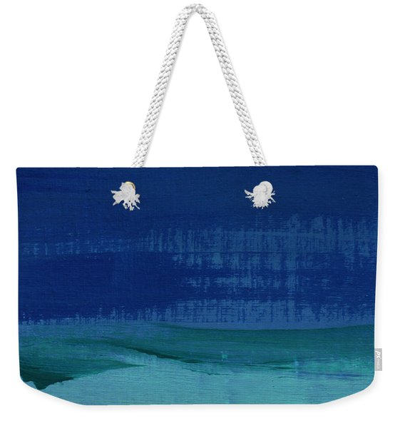 Calm Waters- Abstract Landscape Painting Weekender Tote Bag