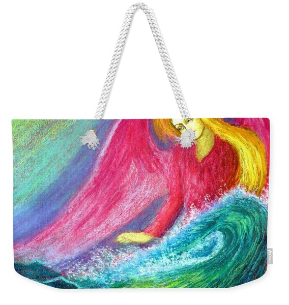 Calming Angel Weekender Tote Bag