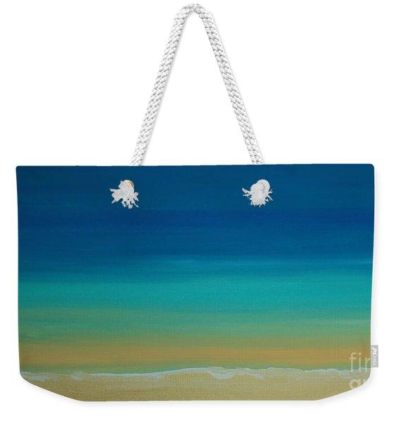 Calming Turquise Sea Part 2 Of 2 Weekender Tote Bag