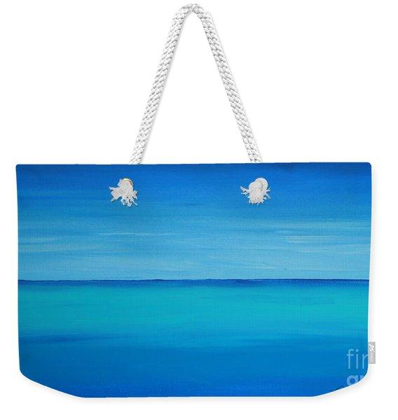 Calming Turquise Sea Part 1 Of 2 Weekender Tote Bag