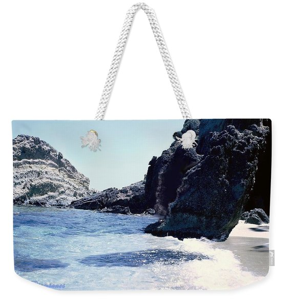 Calming Waves Weekender Tote Bag