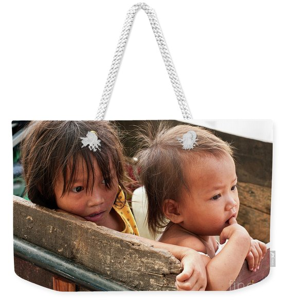 Cambodian Children 03 Weekender Tote Bag