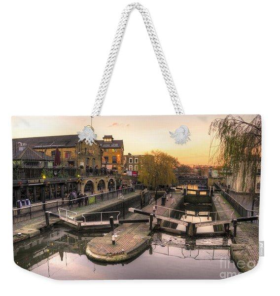 Camden Lock  Weekender Tote Bag
