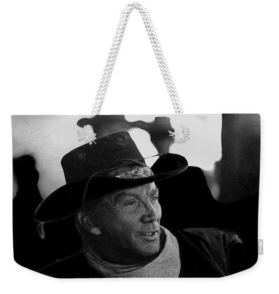 Cameron Mitchell The High Chaparral Set Old Tucson Arizona 1967-2008 Weekender Tote Bag