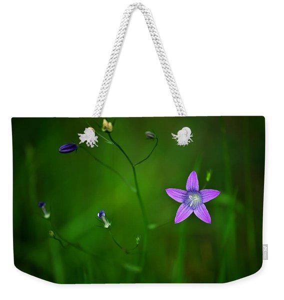 Campanula Patula Weekender Tote Bag