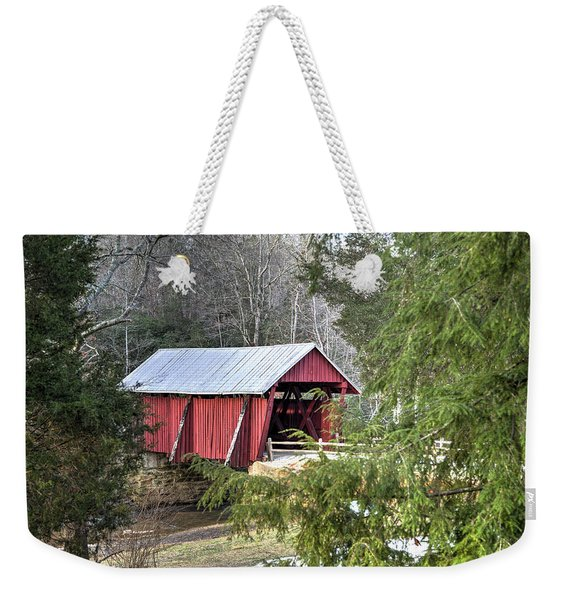 Campbell's Covered Bridge-1 Weekender Tote Bag