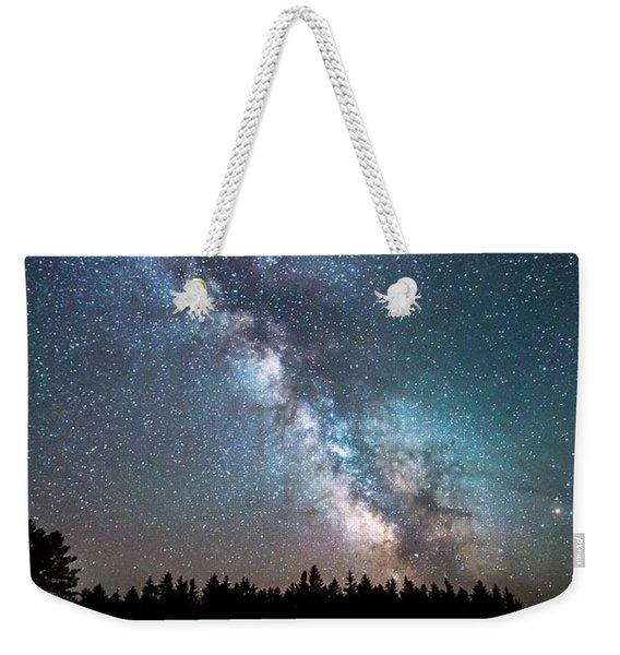 Camping Under The Stars Weekender Tote Bag