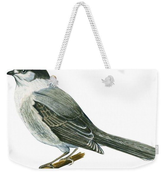 Canada Jay Weekender Tote Bag