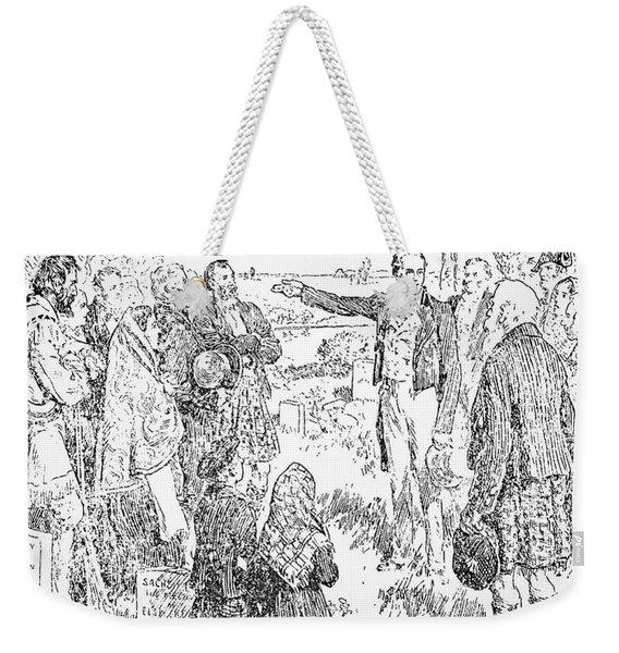 Canada Red River, 1812 Weekender Tote Bag