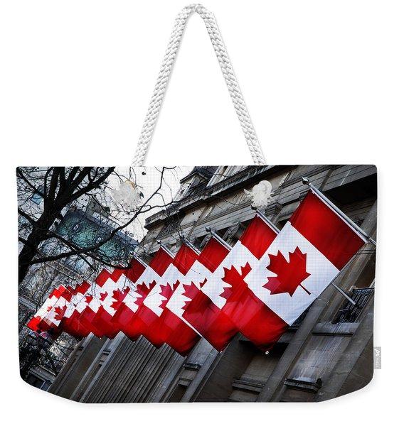 Canadian Embassy London Weekender Tote Bag