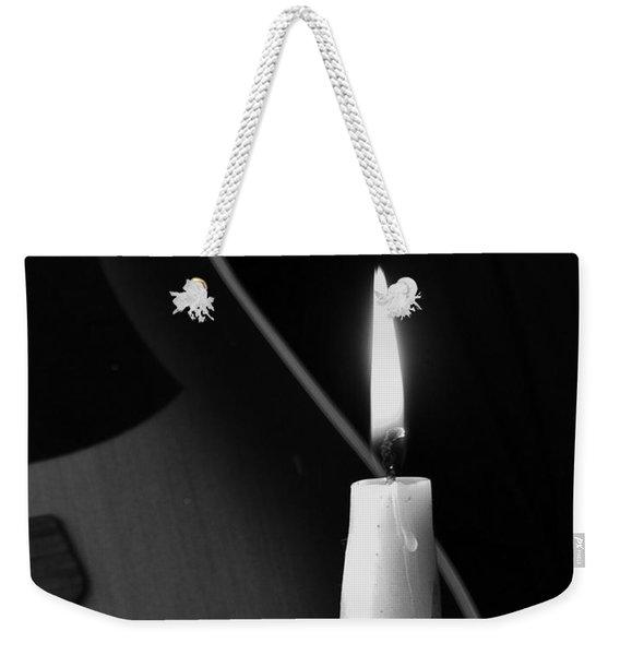 Candle Light Serenade Weekender Tote Bag