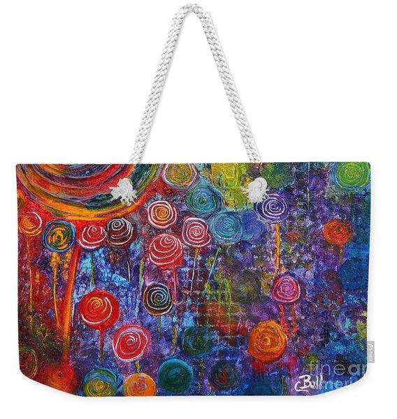 Candyland Weekender Tote Bag