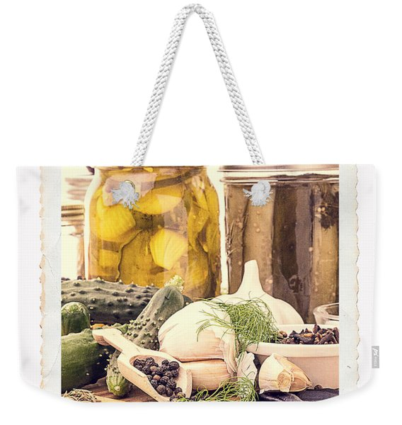 Canning Kitchen Art Weekender Tote Bag
