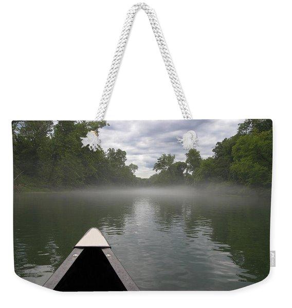 Canoeing The Ozarks Weekender Tote Bag