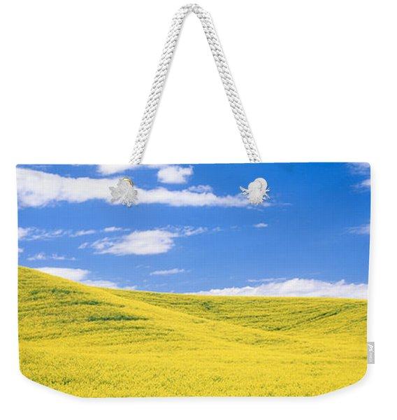 Canola Fields, Washington State, Usa Weekender Tote Bag