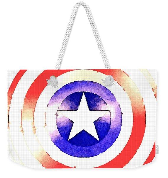 Cap Am Shield Weekender Tote Bag