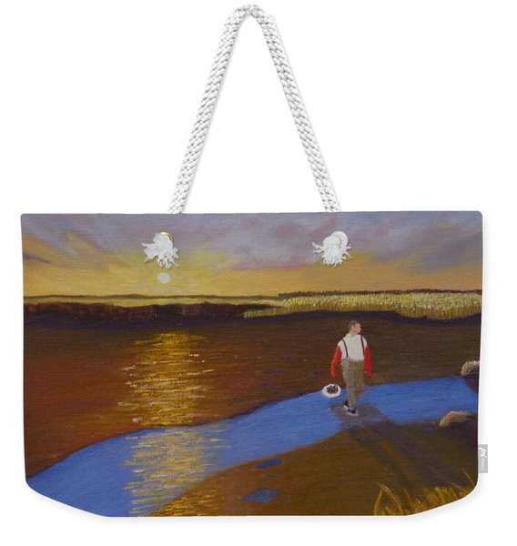 Cape Cod Clamming Weekender Tote Bag