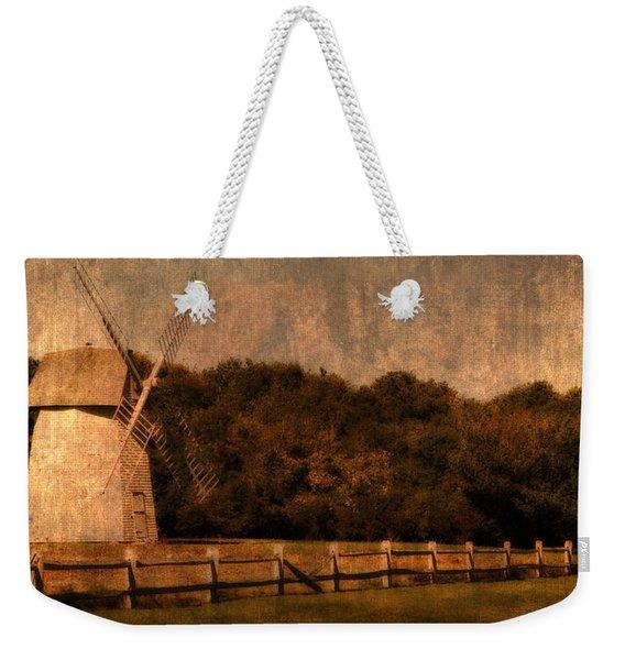 Cape Cod Windmill Weekender Tote Bag