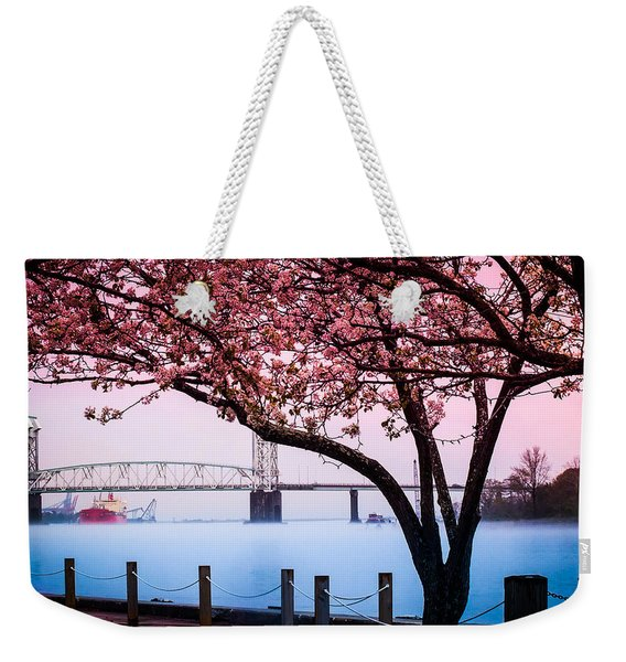 Cape Fear Of Wilmington Weekender Tote Bag