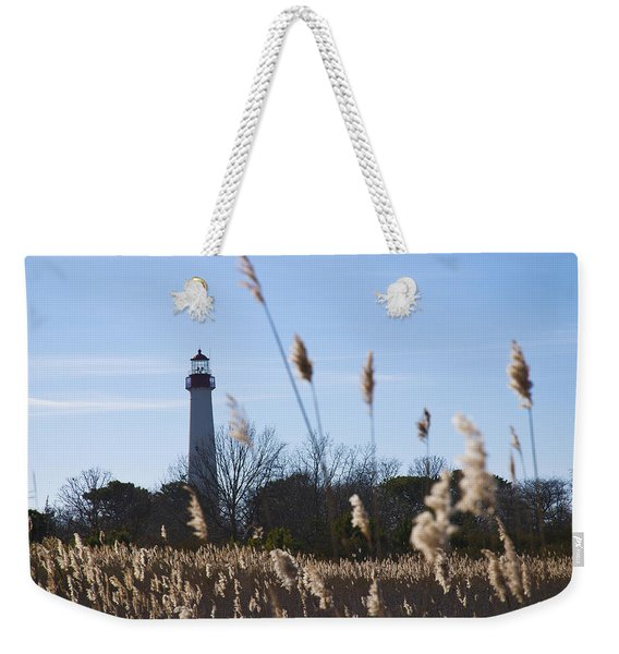 Cape May Light Weekender Tote Bag