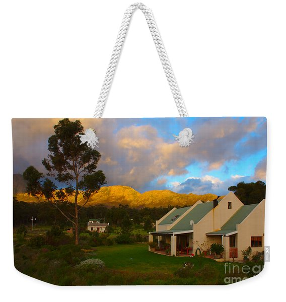 Weekender Tote Bag featuring the photograph Cape Sunset by Jeremy Hayden