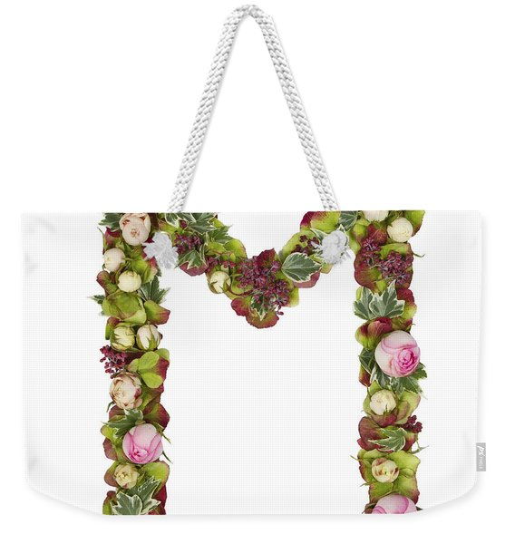 Capital Letter M Weekender Tote Bag