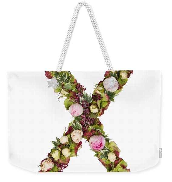 Capital Letter X Weekender Tote Bag