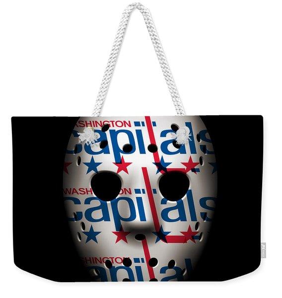 Capitals Goalie Mask Weekender Tote Bag