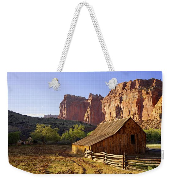 Capitol Barn Weekender Tote Bag