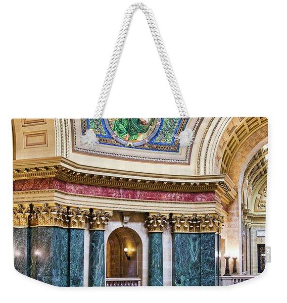 Capitol - Madison - Wisconsin Weekender Tote Bag