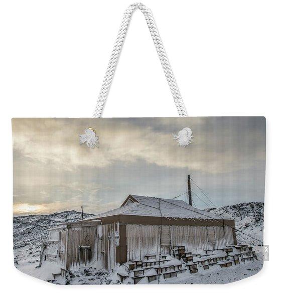Captain Earnest Shackletons Hut At Cape Weekender Tote Bag