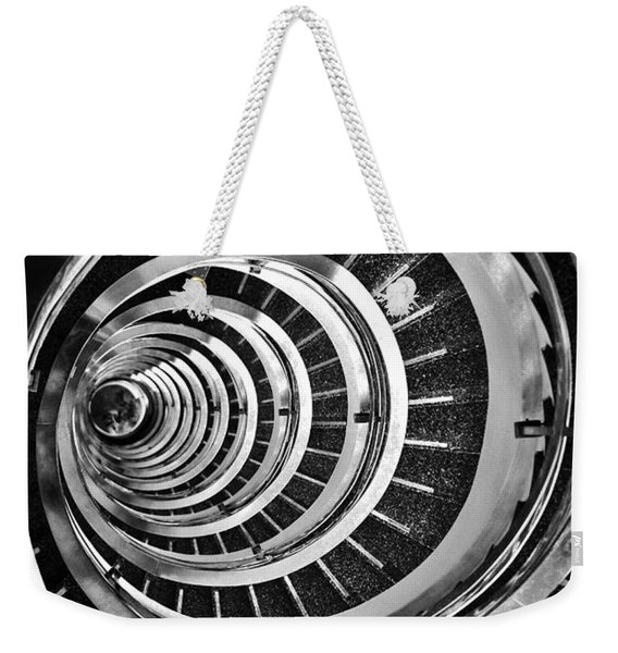 Time Tunnel Spiral Staircase In Sao Paulo Brazil Weekender Tote Bag