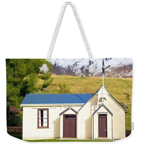 Cardrona Schoolhouse Weekender Tote Bag