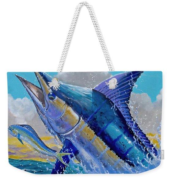 Carib Blue Weekender Tote Bag