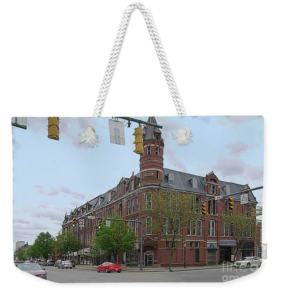 Carlisle Building -  A Chillicothe Landmark Weekender Tote Bag