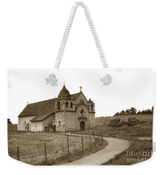 Carmel Mission Monterey Co. California Circa 1890 Weekender Tote Bag