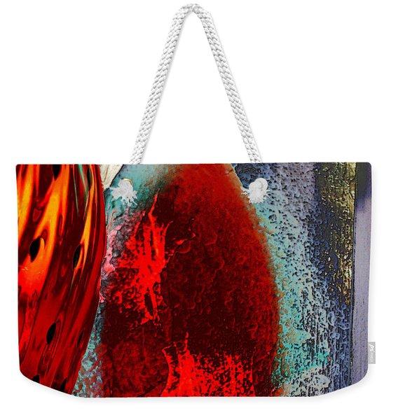 Carmellas Red Vase 1 Weekender Tote Bag