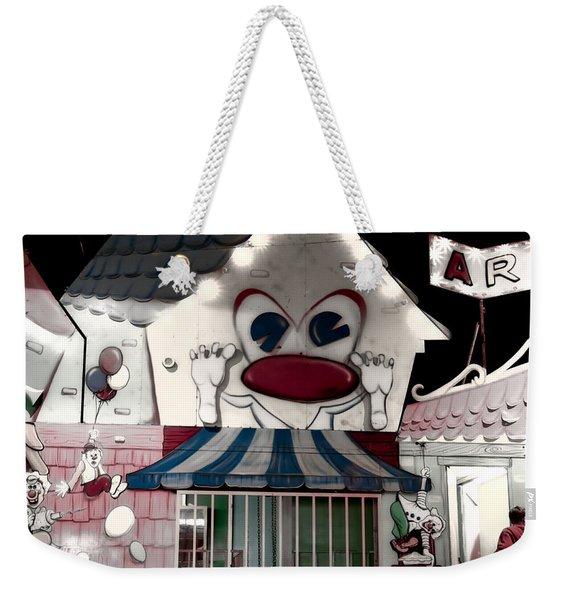 Carnival Fun House Weekender Tote Bag