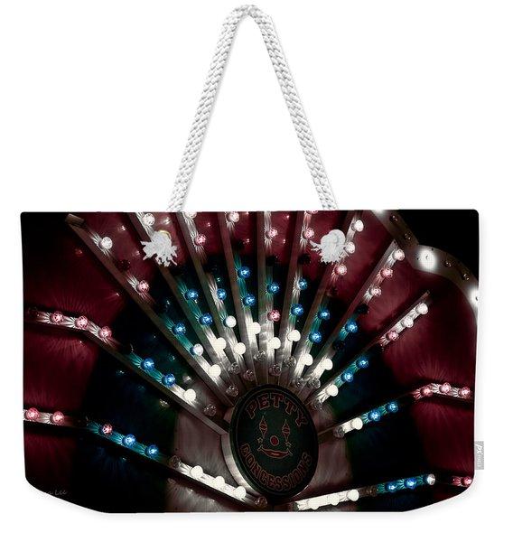 Carnival Lights Weekender Tote Bag